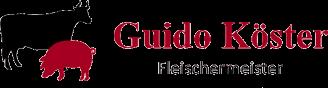 Guido Köster Fleischermeister - Logo